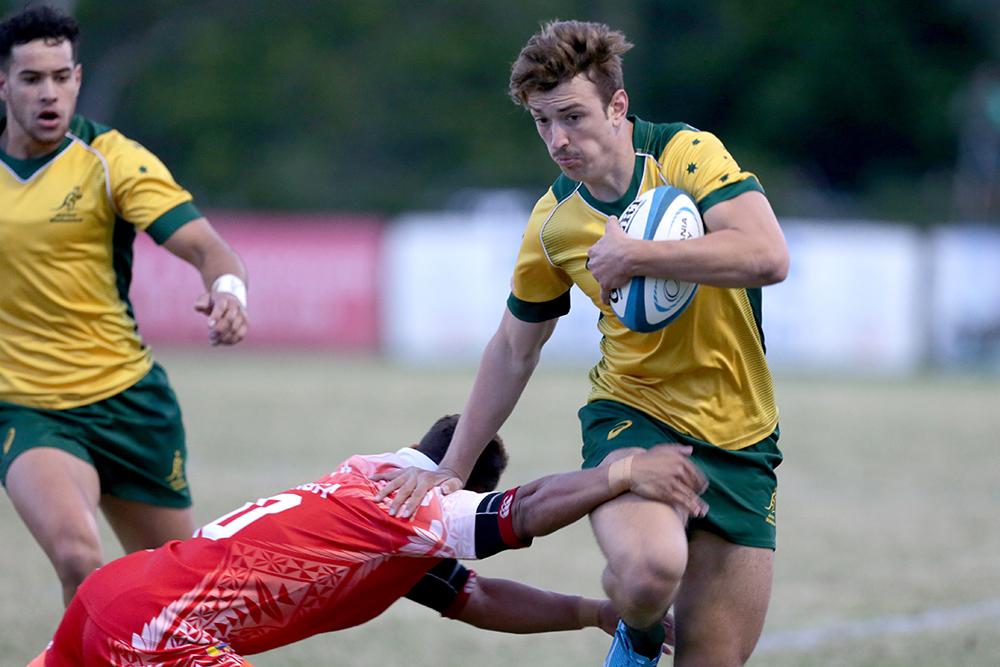Oceania Rugby U20s Championship: Junior Wallabies vs Tonga