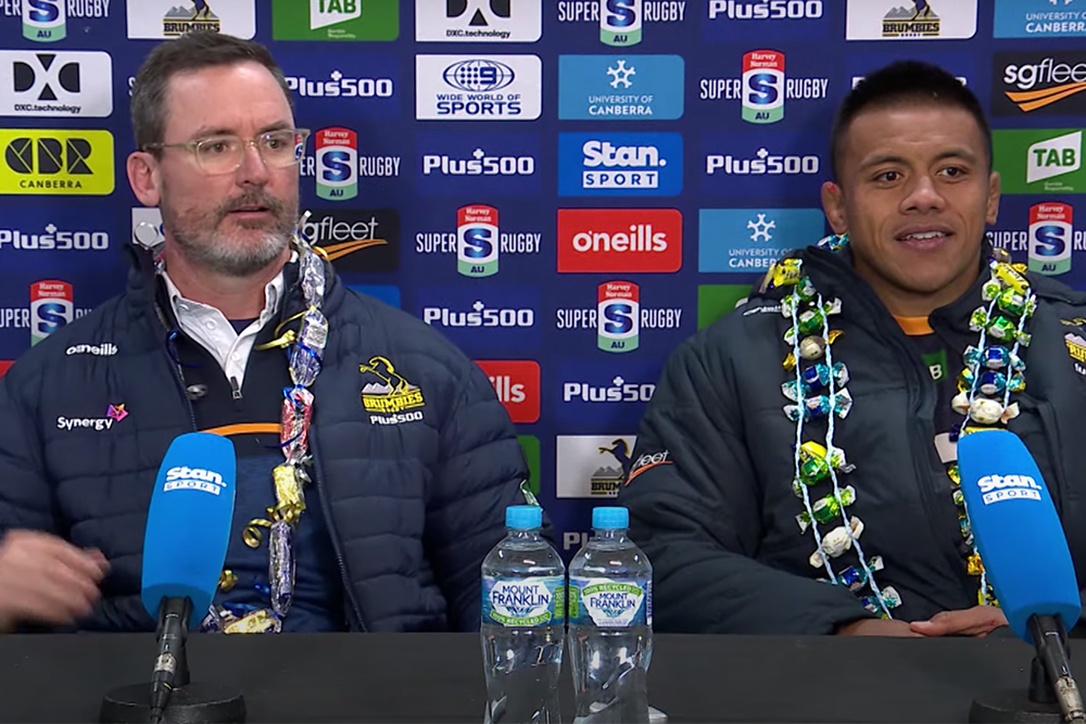 Harvey Norman Super Rugby Trans-Tasman Round Four: Brumbies press conference
