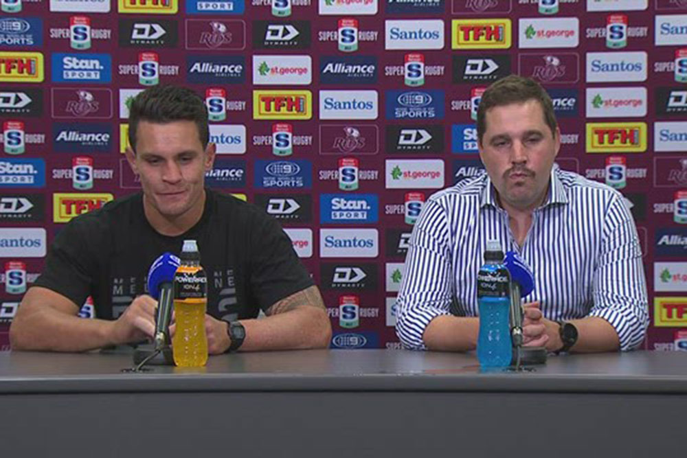 Harvey Norman Super Rugby Round Two: Melbourne Rebels press conference