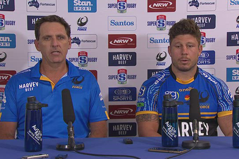 Harvey Norman Super Rugby AU Round Four: Western Force press conference