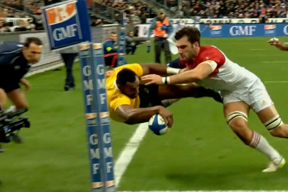 Drop goal goes wide to give Wallabies the win