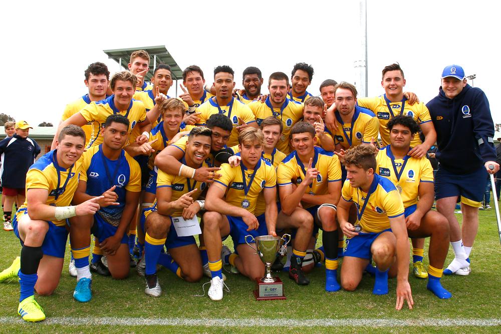 2019 U19s Rugby Championship: Finals