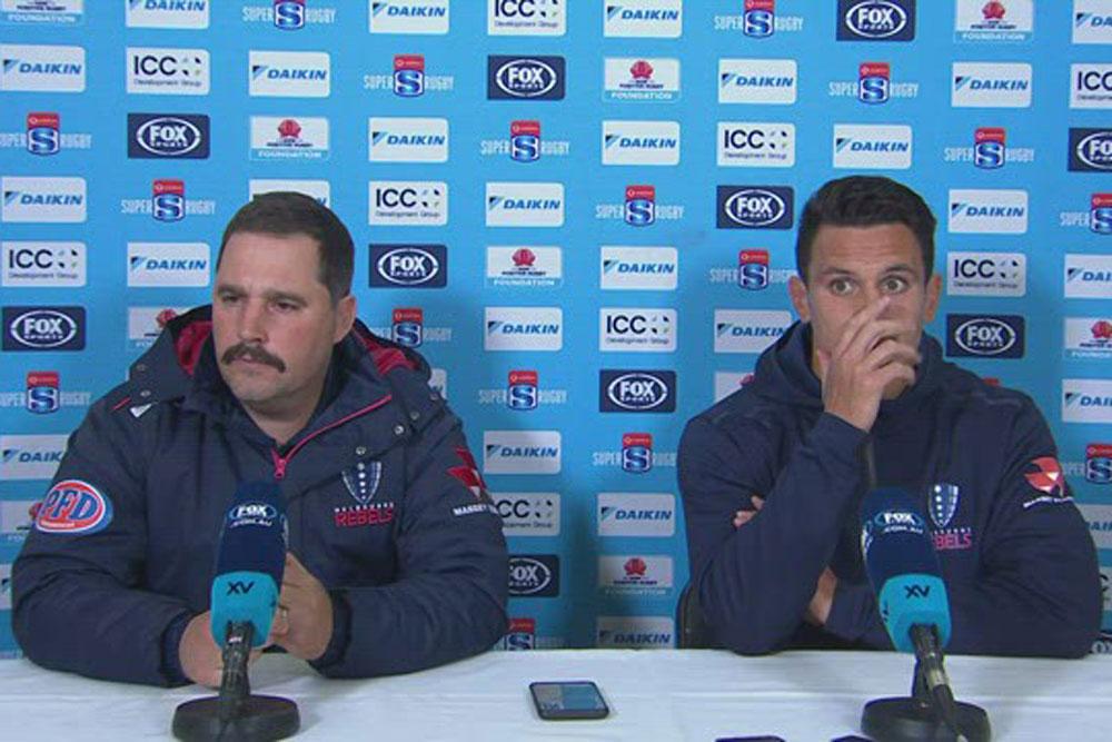 Vodafone Super Rugby AU Round Nine: Rebels press conference