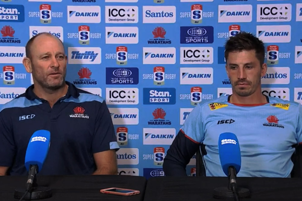 Harvey Norman Super Rugby AU Round Six: Waratahs press conference