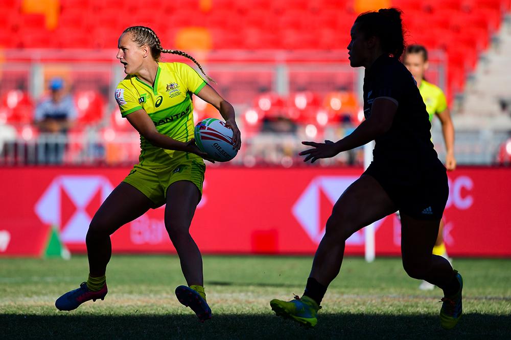 Sydney 7s: Aussie Women vs New Zealand