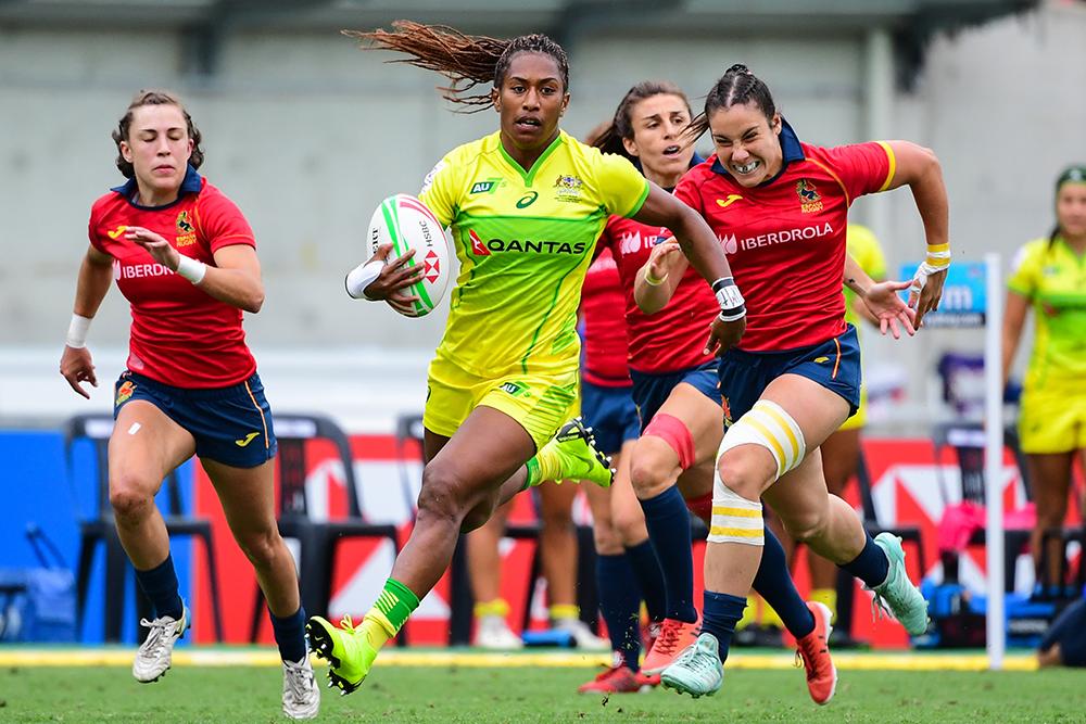 Sydney 7s: Australia Womens vs Spain