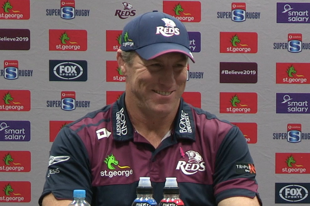 Super Rugby 2019 Round 16: Reds press conference