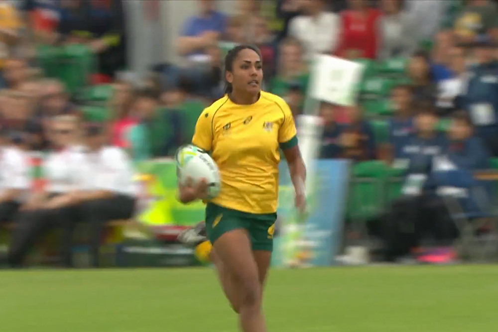 Wallaroos notch their first win of the 2017 World Cup