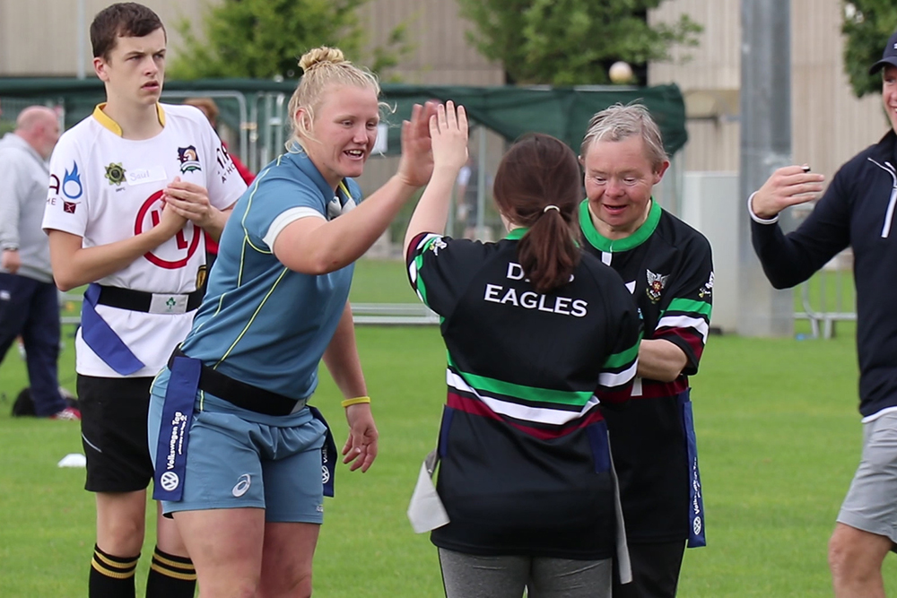 Wallaroos give back to the community in Ireland