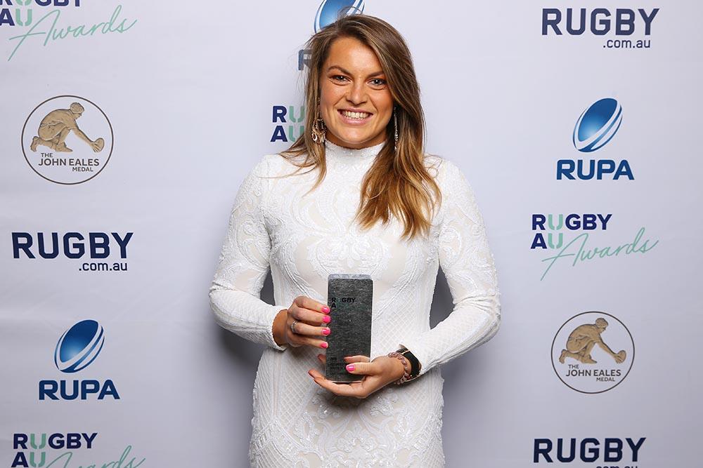 Rugby Australia Awards 2019 - Wallaroo of the Year, Grace Hamilton