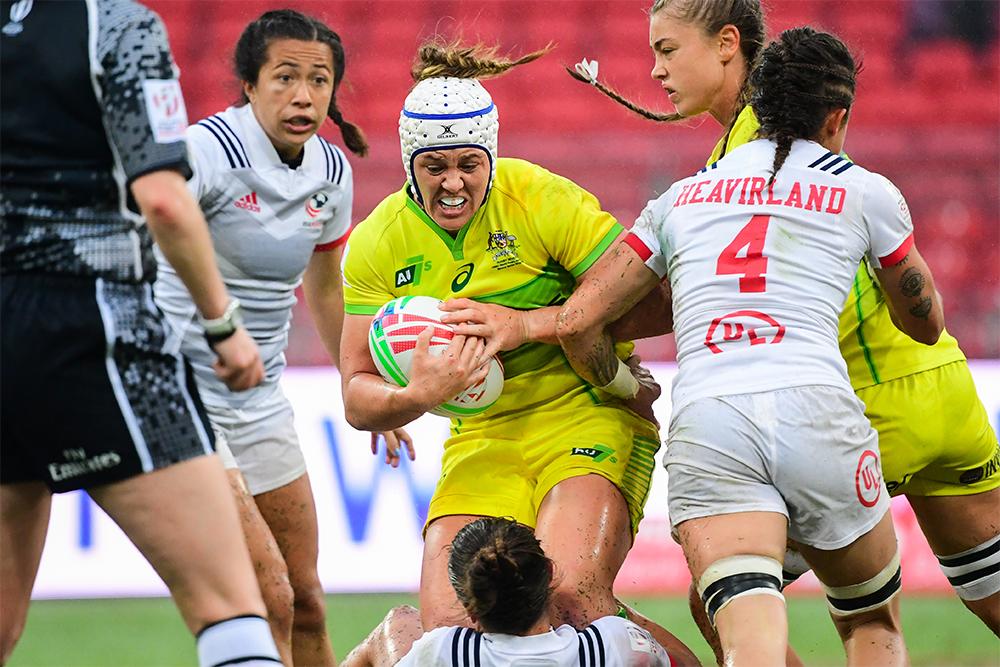 Sydney 7s: Aussie Women vs USA