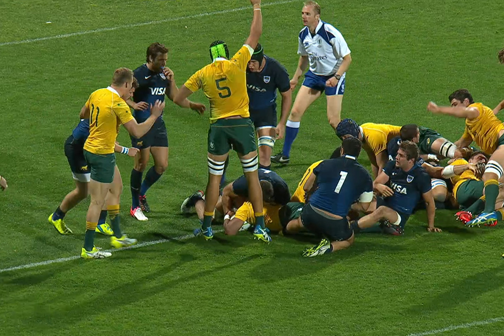 Australia too strong for Argentina in Perth