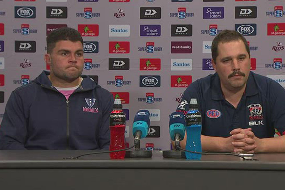 Vodafone Super Rugby AU Round Seven: Rebels press conference