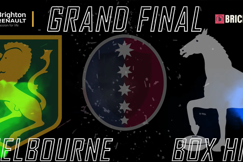 2019 Brighton Renault Dewar Shield Grand Final - Melbourne v Box Hill