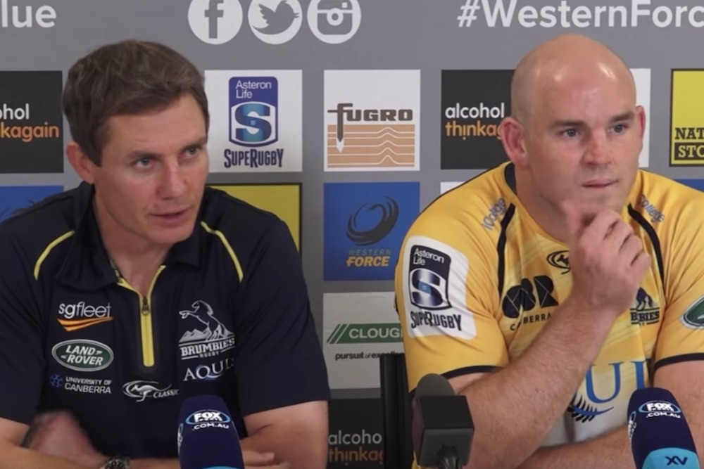 Post Match Press Conference: Force v Brumbies