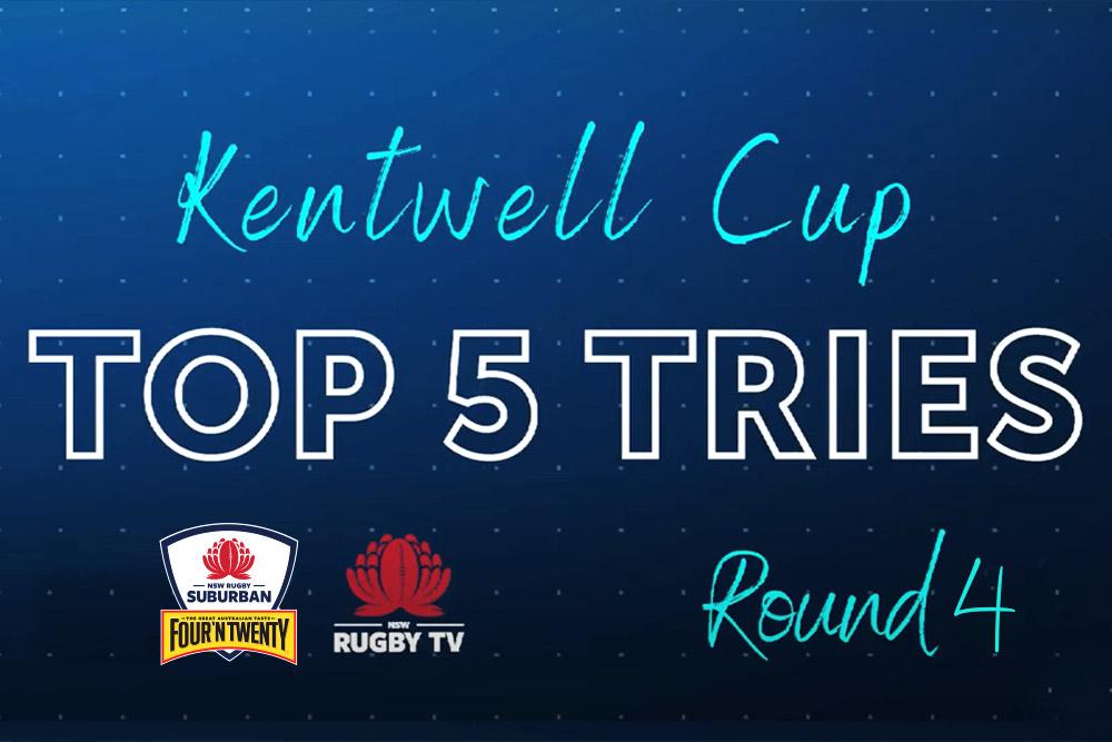 2021 Kentwell Cup RD 4 - Top 5 tries