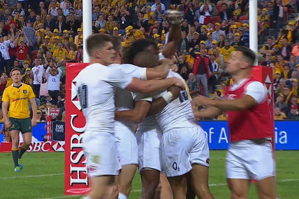 England too strong for Wallabies in Brisbane