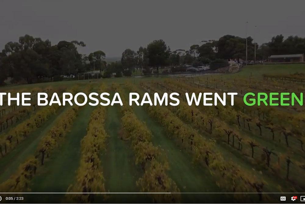 Barossa Goes Green for Mental Health