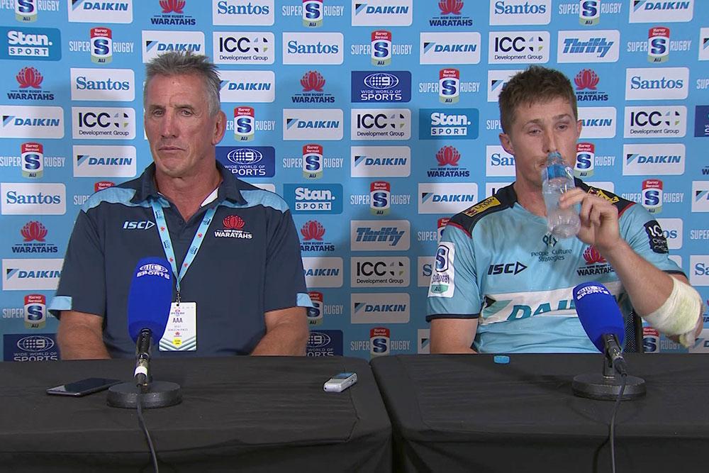 Harvey Norman Super Rugby AU Round Three: Waratahs press conference