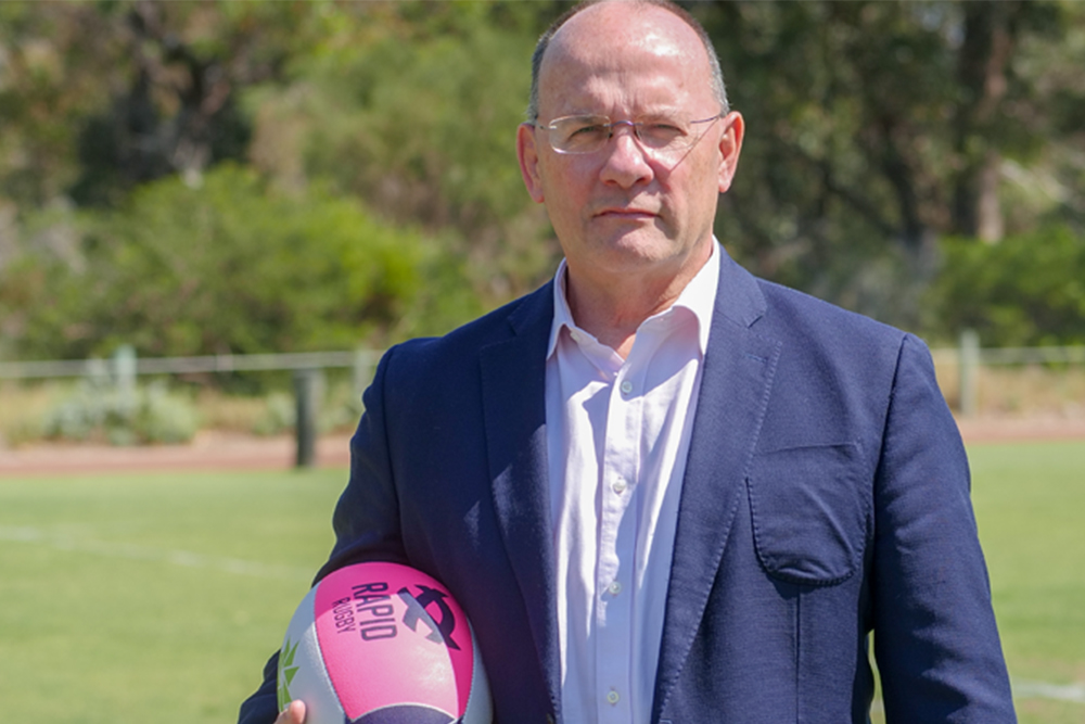 A message from Global Rapid Rugby CEO Mark Evans
