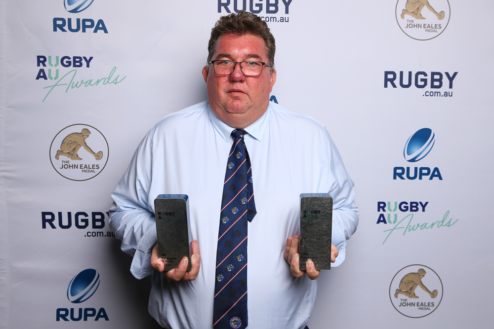 Rugby Australia Awards 2019 - HSBC Volunteer of the year Ben Blyton