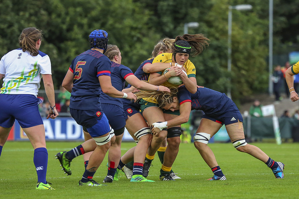 Wallaroos fall in France in second pool game