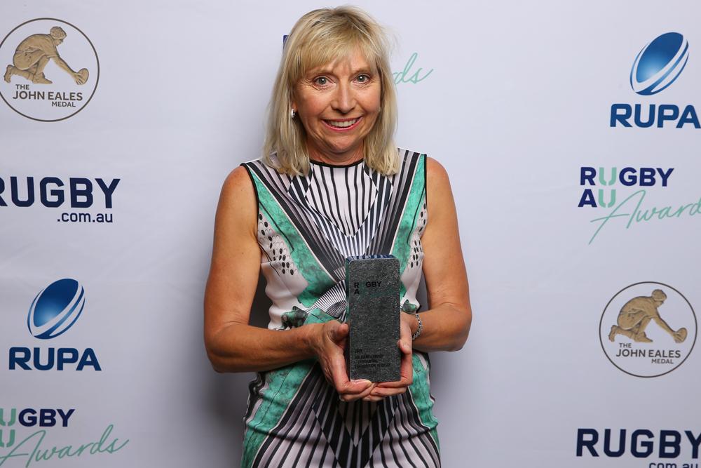 Rugby Australia Awards 2019 - Joe French Award, Sharron Flahive