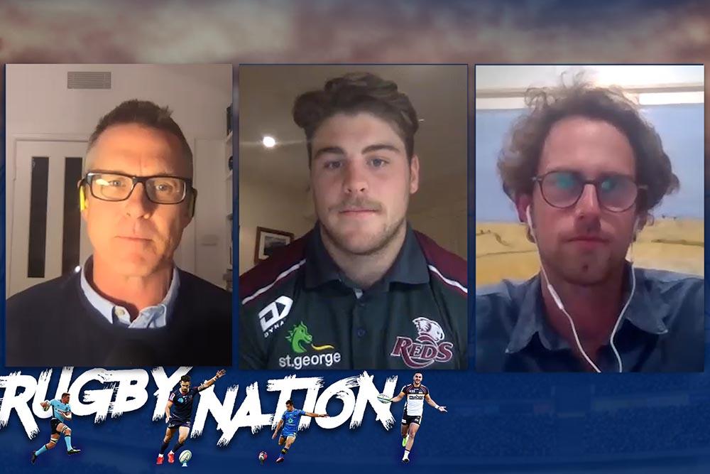 The Rugby Nation show: Fraser McReight & Matt To'omua