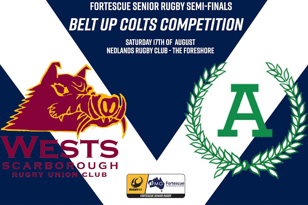 Belt Up Colts 2019 Major Semi Final - Wests v Associates