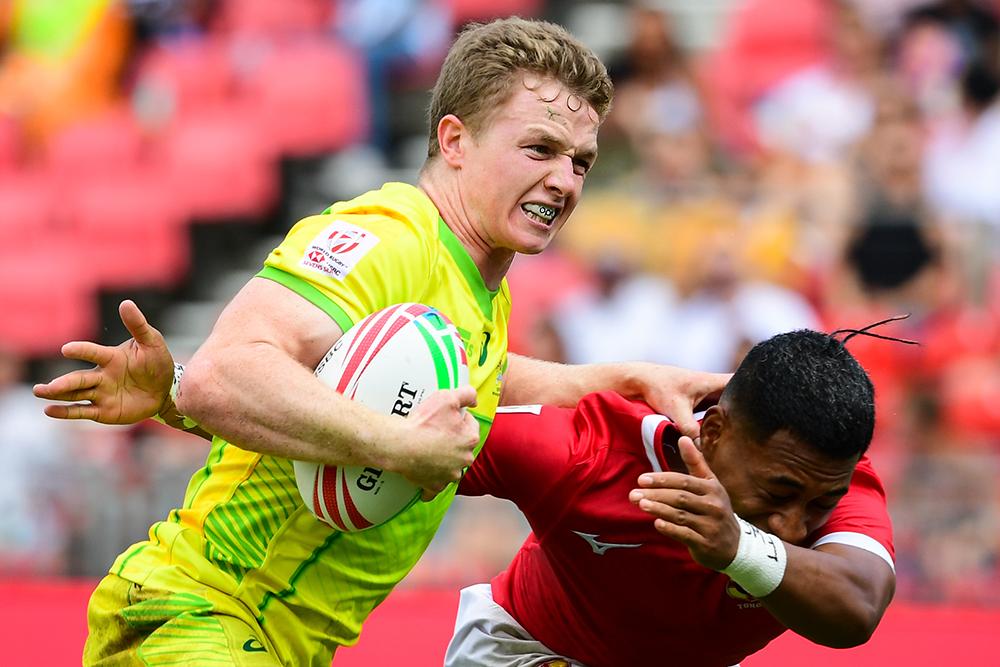 Sydney 7s: Aussie Men vs Tonga