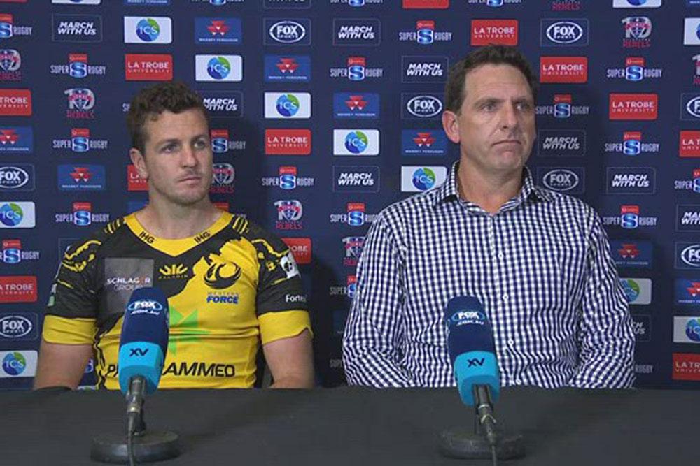 Vodafone Super Rugby AU Round Ten: Western Force press conference