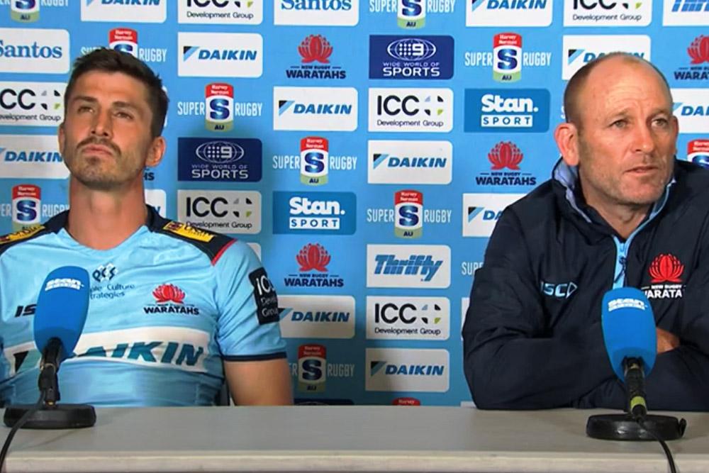 Harvey Norman Super Rugby Trans Tasman Round One: Waratahs press conference
