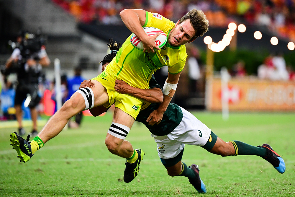 Sydney 7s 5th place play-off: Aussie Men vs South Africa