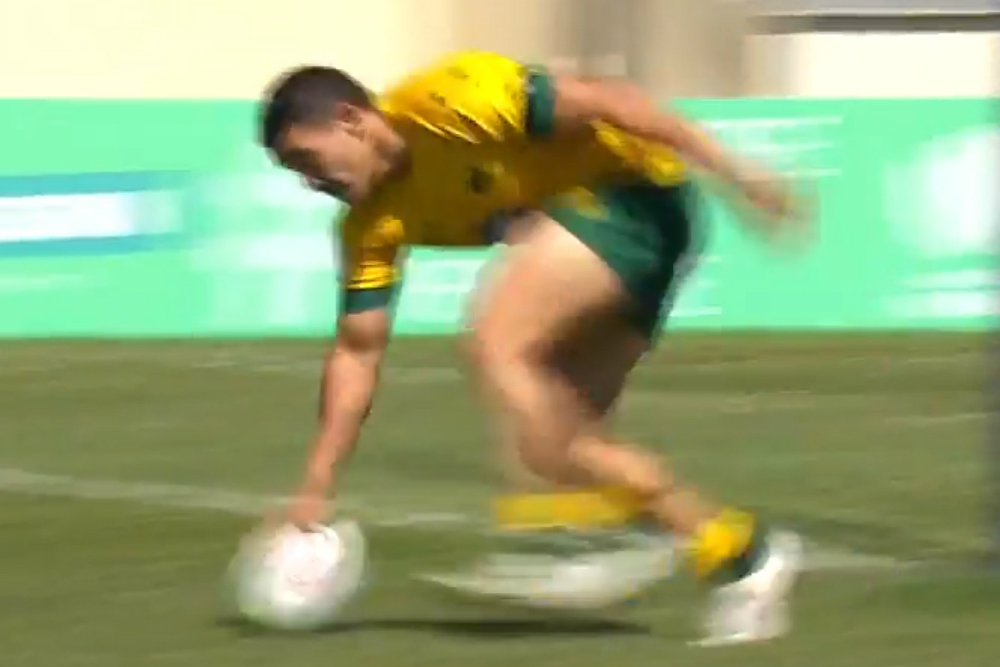 Perese hat trick fires Aussies to Italian win