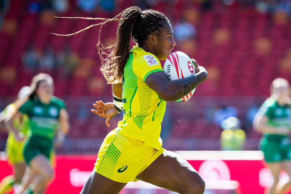 Sydney 7s: Aussie Women vs Ireland