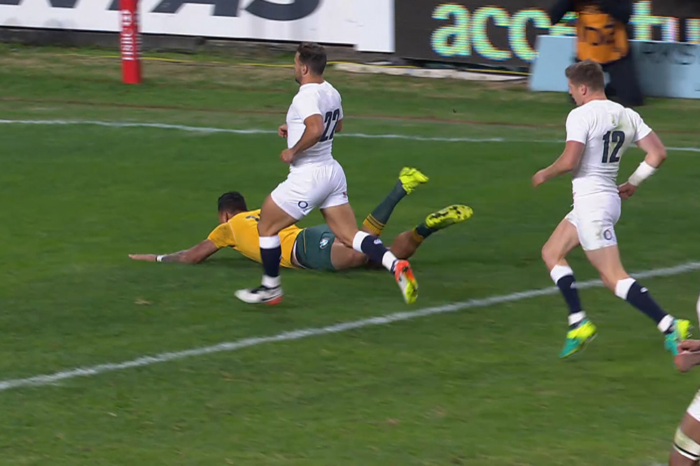 England trump the Wallabies in a nine-try thriller