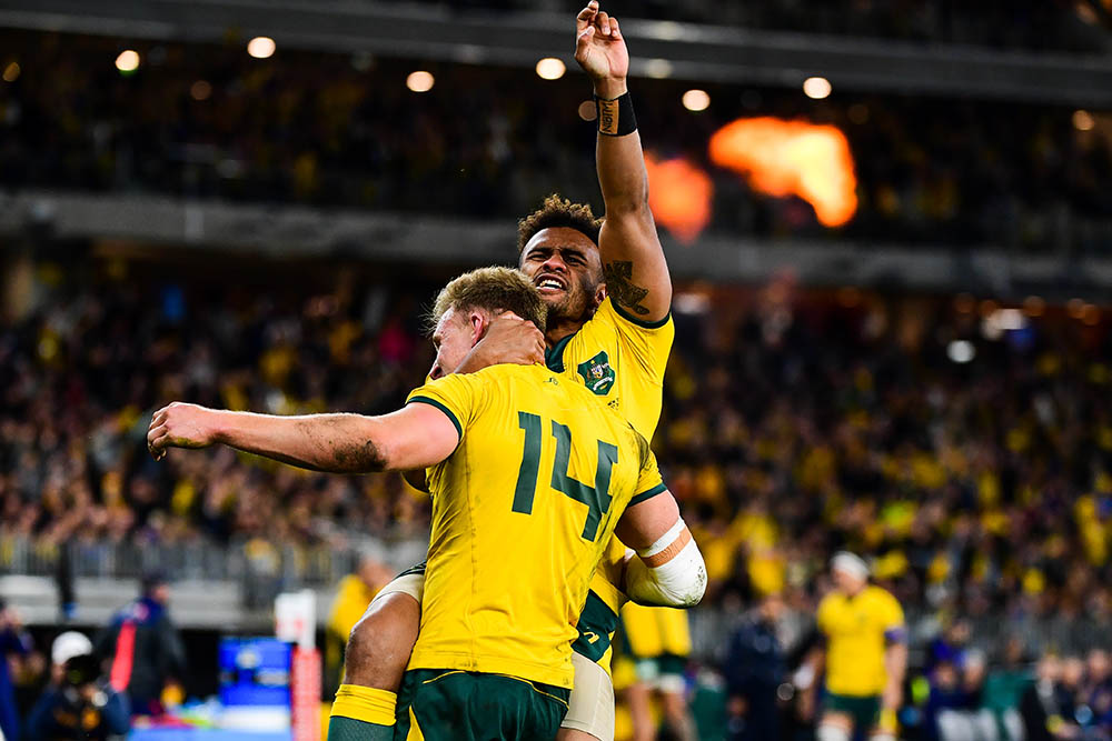 An historic Bledisloe Cup test in Perth
