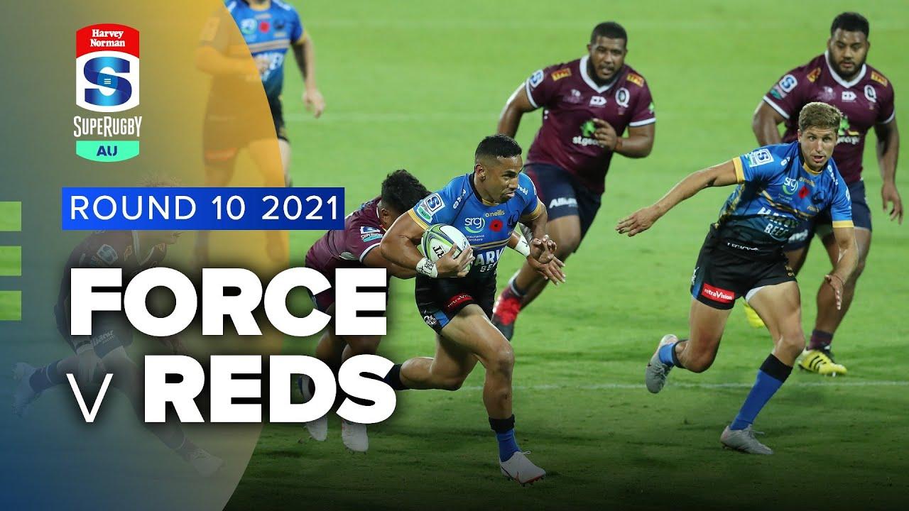 Super Rugby AU | Force v Reds - Rd 10 Highlights