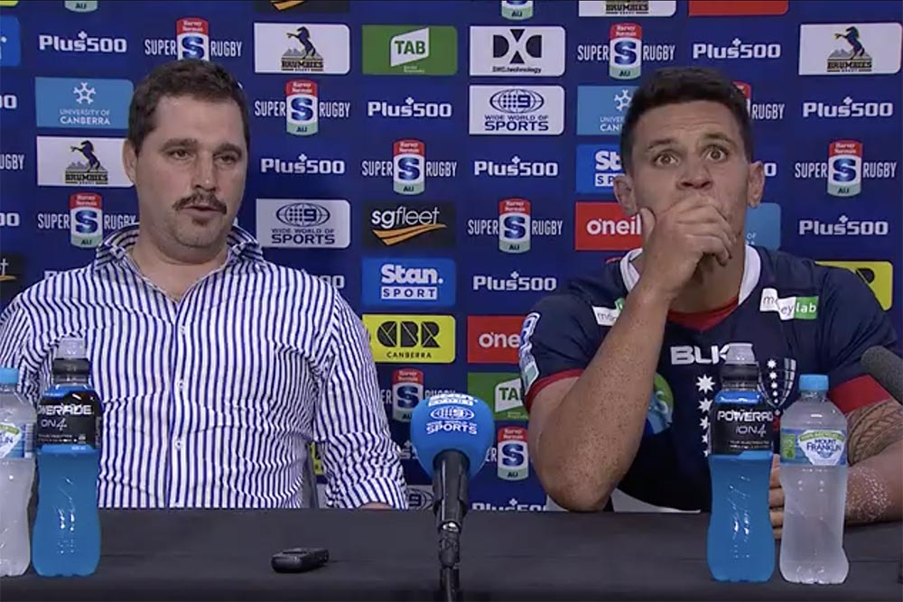 Harvey Norman Super Rugby AU Round Three: Rebels press conference