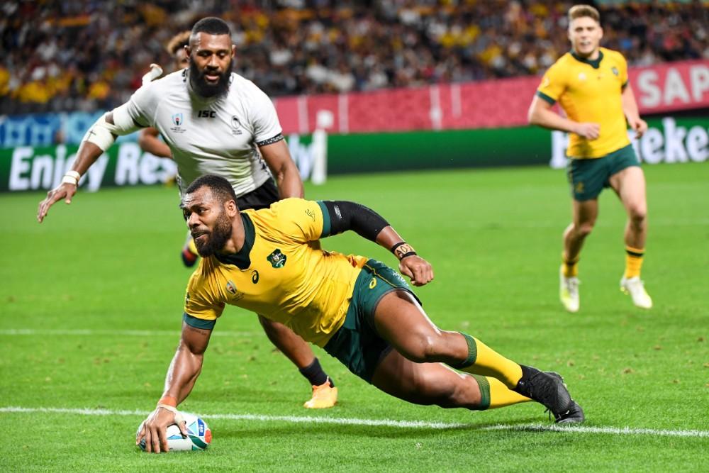 World Cup: Wallabies vs Fiji