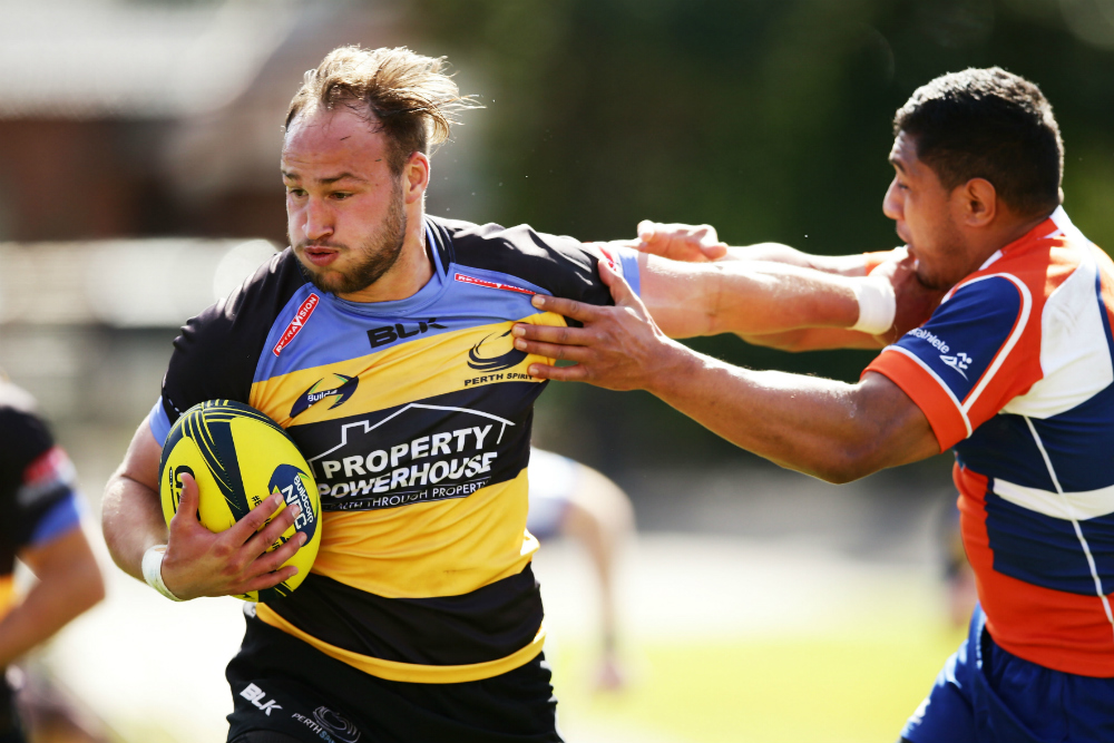 Bill Meakes has been outstanding in the centres and will also play for the Force in next year's Super Rugby season. Photo: Getty Images
