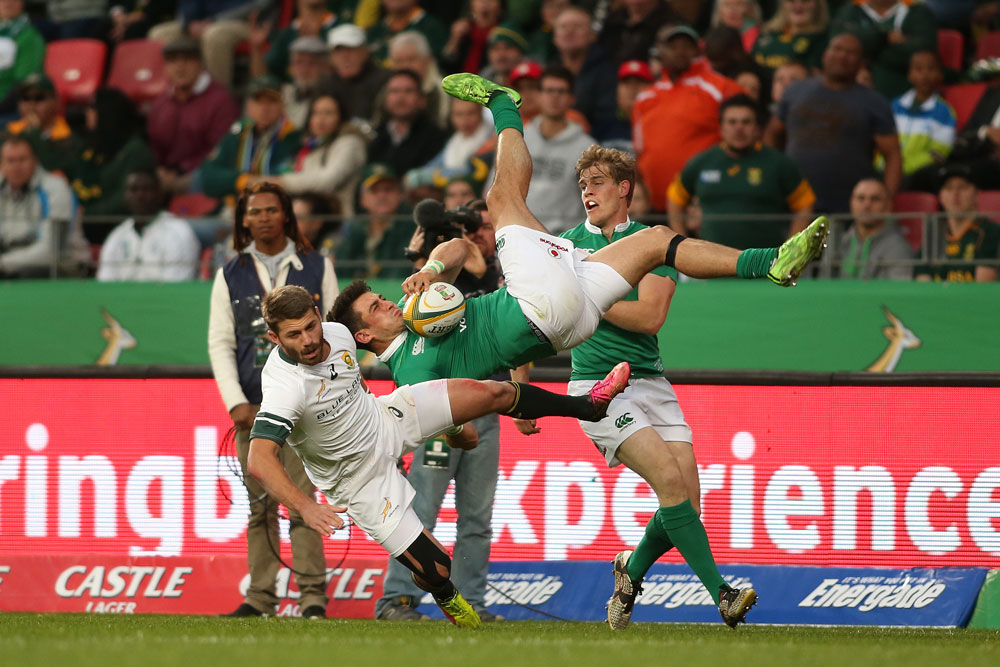 Willie Le Roux caused headaches for the Springboks. Photo: Getty Images