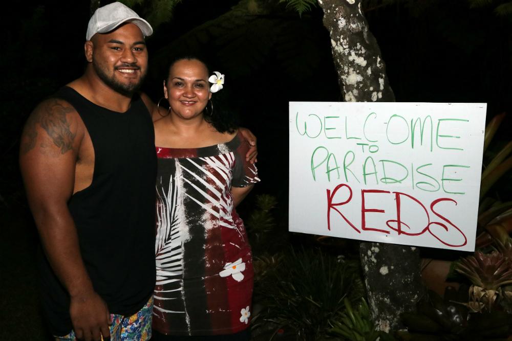 Tupou remains true to his Tongan roots. Photo: QRU Media