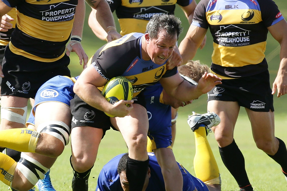Tessmann in action against Brisbane City in Round 6. Photo: Getty Images