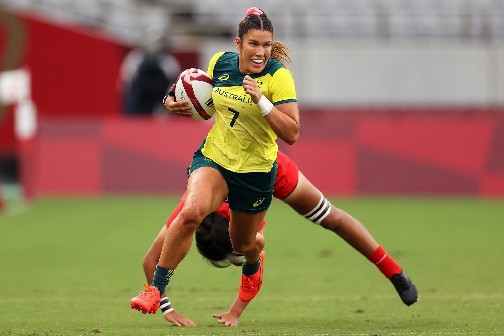 The Aussies Sevens will be hoping to continue their strong start. Photo: Getty Images