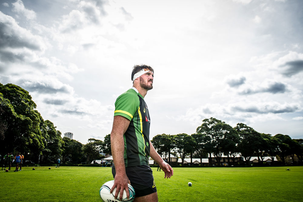 Kane DOuglas is starting for the second Test in a row. Photo: ARU Media/Stu Walmsley
