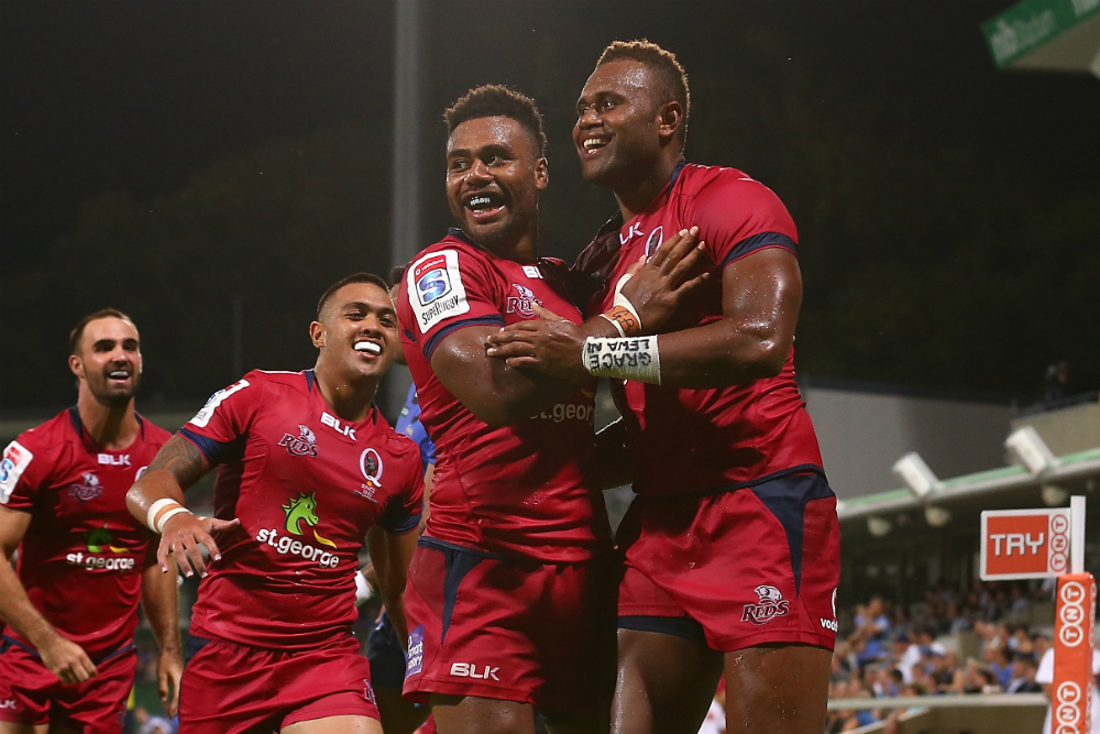 Nabuli has been a regular fixture on the Queensland left edge in 2017. Photo: Getty Images