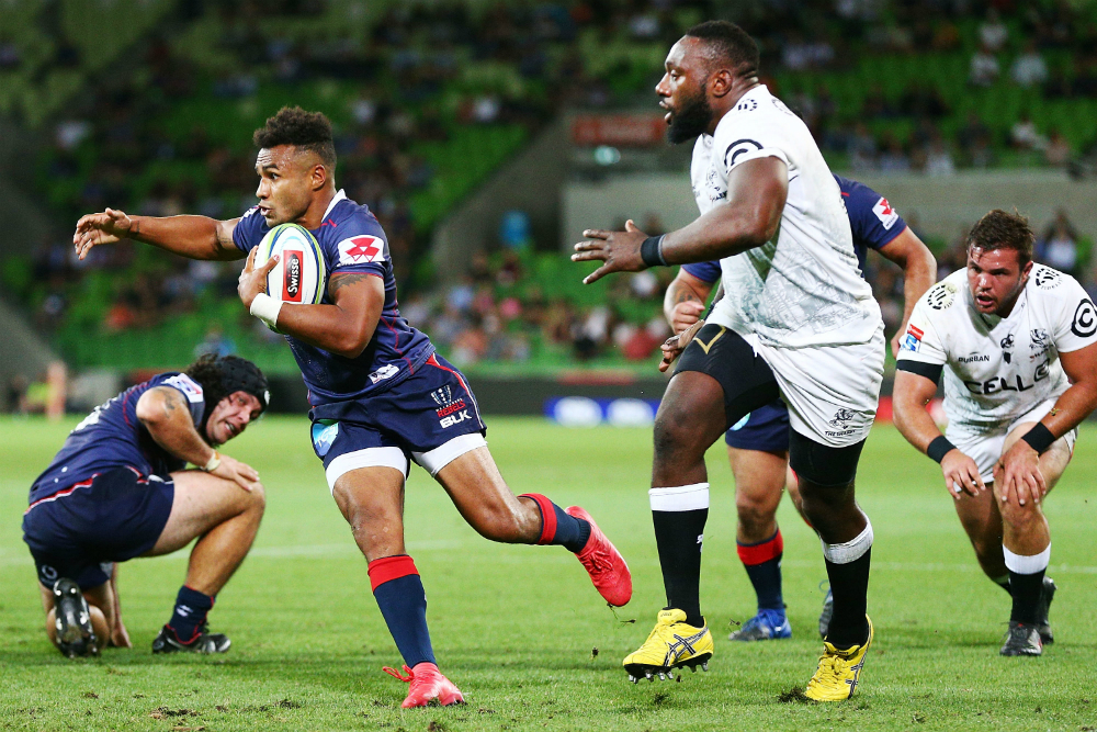 Genia is backing the Rebels to roll the Crusaders. Photo: Getty Images