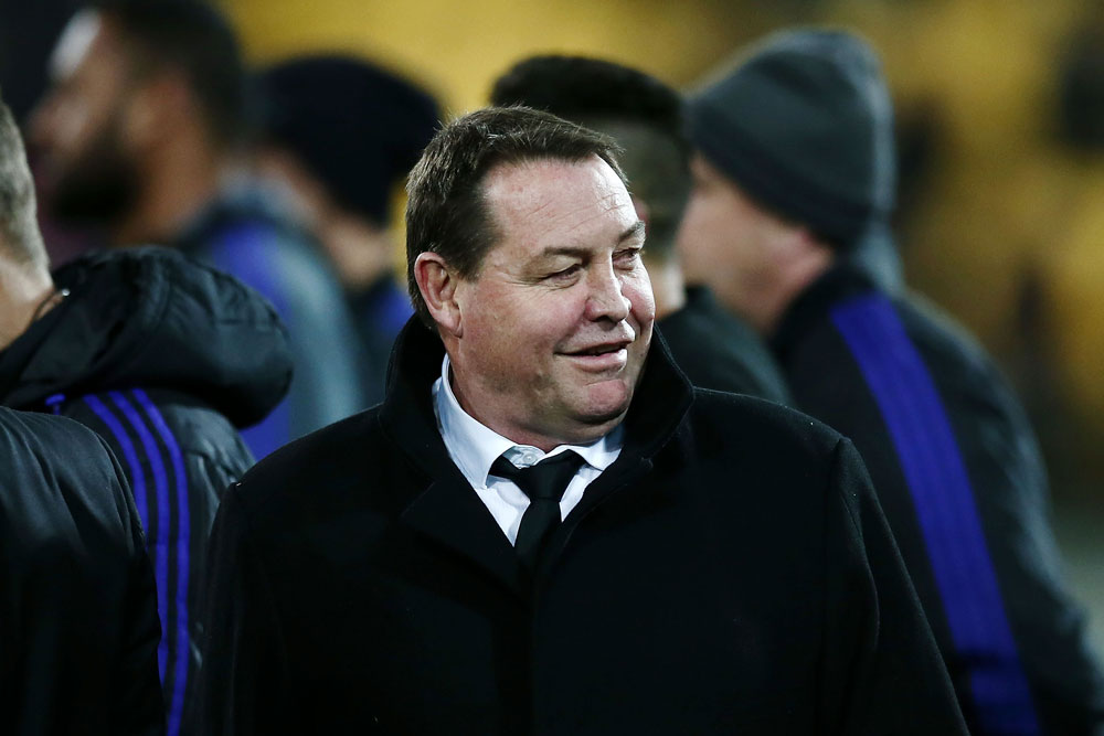 Steve Hansen has been happy to have his say this season. Photo: Getty Images
