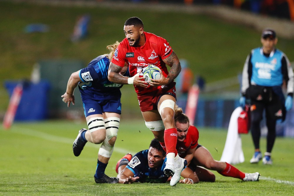 Rahboni Warren-Vosayaco in action for the Sunwolves | Getty Images